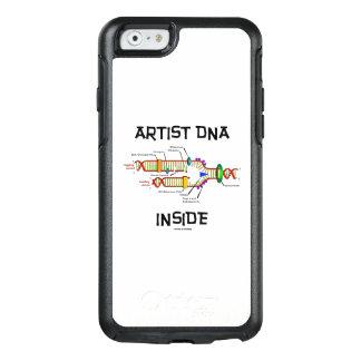 ADN do artista dentro da réplica do ADN da