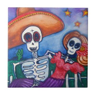 adoce o dia do crânio da arte mexicana inoperante