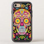 Adoce o iPhone 6/6S do crânio - dia da arte Capa Para iPhone 7 OtterBox Symmetry