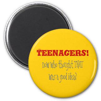 Adolescentes HMPF Ímã Redondo 5.08cm