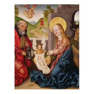 Adoração da criança cartão postal