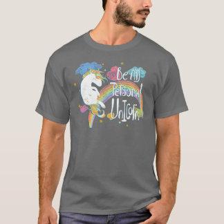 Adorável seja minha camisa pessoal do unicórnio |