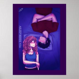 Adormecido ao lado de você poster 1