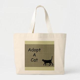 Adote um gato bolsa para compra