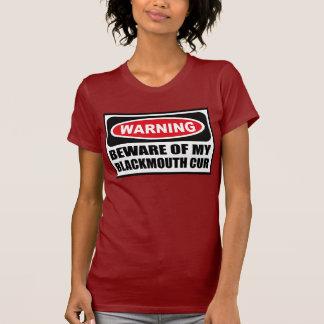 Advertir BEWARE do T escuro das MINHAS mulheres do Tshirt
