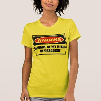 Advertir BEWARE dos T-S das MINHAS mulheres de AZU Tshirt