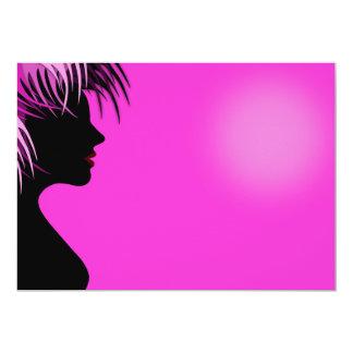 advertisi do cabeleireiro do cabeleireiro convite 12.7 x 17.78cm