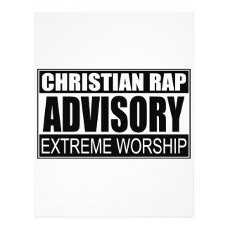 Advisory cristão do rap… panfletos