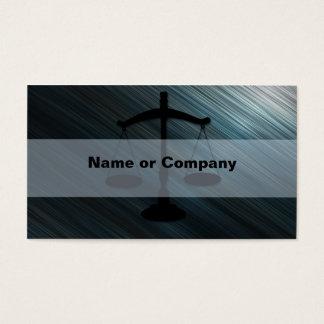 Advocacia Cartão De Visitas