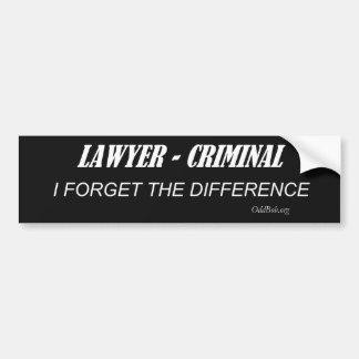 Advogado Adesivo Para Carro