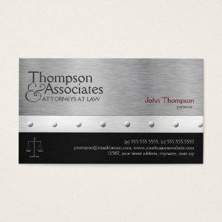 Advogado/advogado elegante/cartão de visita legal cartão de visitas