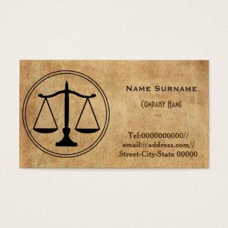 advogado, advogado, empresa de advocacia cartão de visitas