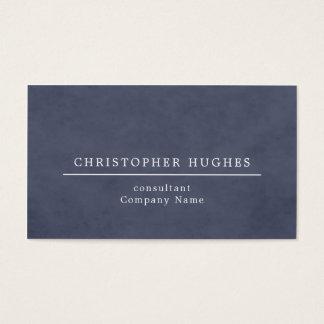Advogado azul da textura elegante minimalista na cartão de visitas