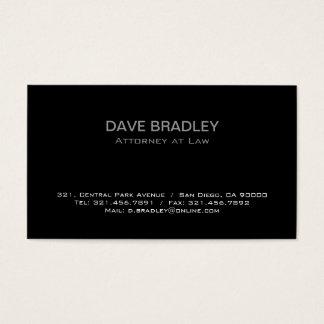 Advogado - cartões de visitas