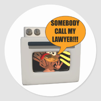 Advogado da necessidade de Turquia Adesivo