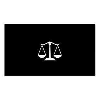 Advogado do advogado cartão de visita