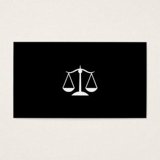 Advogado do advogado cartão de visitas