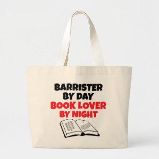 Advogado do amante de livro bolsas para compras