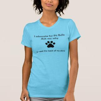 Advogado do pitbull tshirts