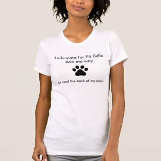 Advogado do pitbull camisetas