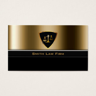 Advogado do protetor do ouro/cartão de visita cartão de visitas