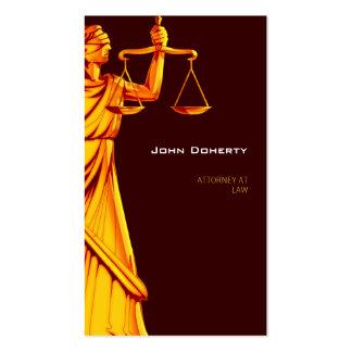 Advogado elegante de Themis | na lei Cartão De Visita
