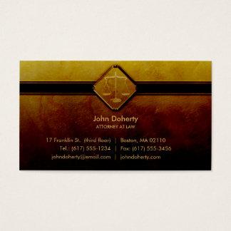 ADVOGADO em elegante profissional da LEI | Cartão De Visitas