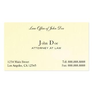 Advogado limpo - escritório de advogados cartões de visita
