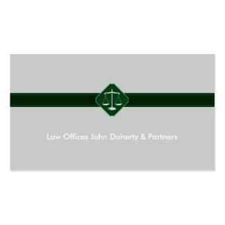 Advogado na lei - cartão de visita