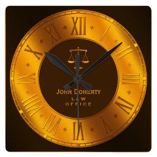 ADVOGADO na LEI   elegante Relógios Para Paredes