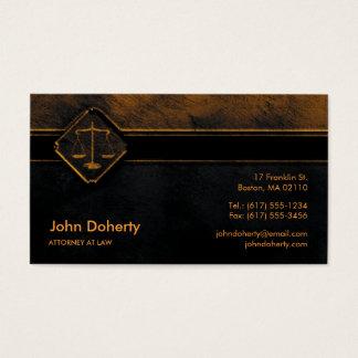 ADVOGADO na obscuridade perfeita da LEI | Cartão De Visitas