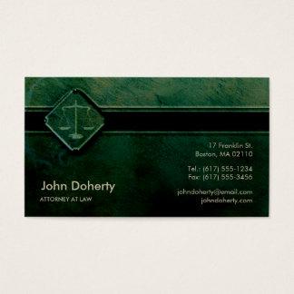 ADVOGADO no verde profissional da LEI | Cartão De Visitas