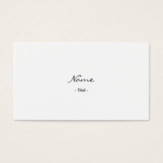 Advogado simples Elegante Weis cartão de