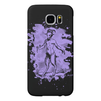 Aegopithecus bleached - violet capa para samsung galaxy s6