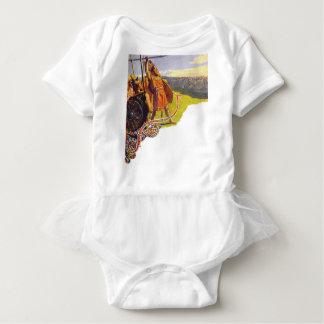 Aesir e Vanir Body Para Bebê