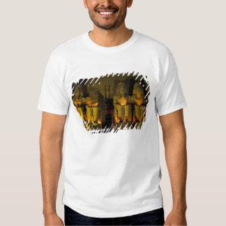 AF, Egipto, Abu Simbel. Figuras colossais de Tshirts