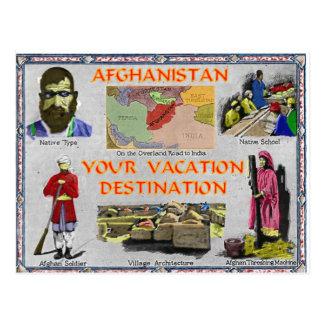 Afeganistão: Seu destino das férias Cartão Postal