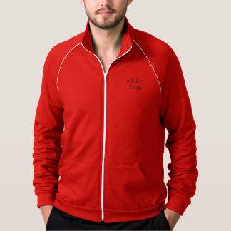 Affolter cultiva o vermelho da jaqueta