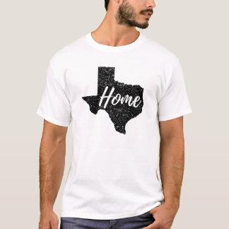 Afligiu toda a camisa Home de Texas da cor