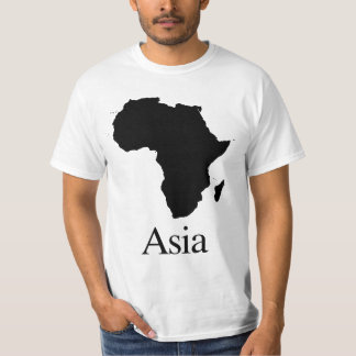 África Ásia Cost-sensitive. Camiseta