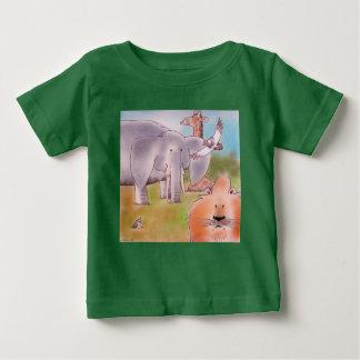 África Camiseta Para Bebê