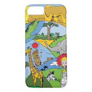 África Capa iPhone 7