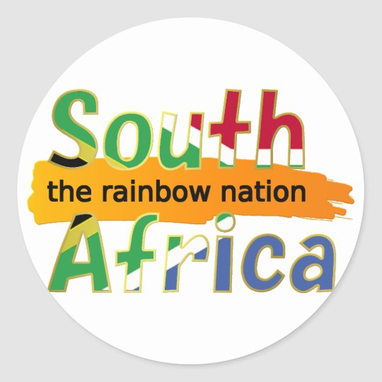 África do Sul: a nação do arco-íris Adesivo