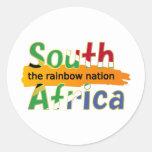 África do Sul: a nação do arco-íris Adesivos