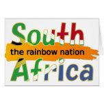 África do Sul: a nação do arco-íris Cartão