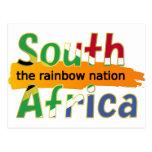 África do Sul: a nação do arco-íris Cartao Postal