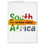 África do Sul: a nação do arco-íris Cartoes