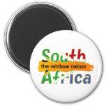 África do Sul: a nação do arco-íris Imãs De Geladeira