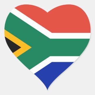 África do Sul Adesivo Coração