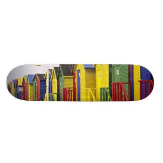África do Sul, cabo ocidental, St James. Colorido Skate